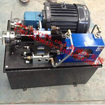 机种丰富; 5,标准油路,控制回路,保养维修容易; 机床液压系统/液压图片