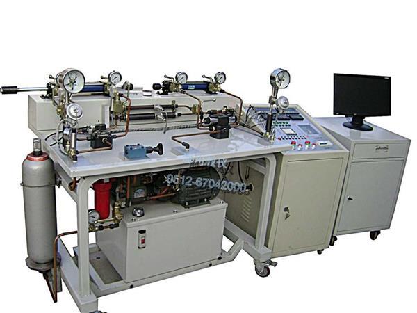 在液压技术实验教学环节中,伺服阀的静态,动态性能测试能够让学生直观图片