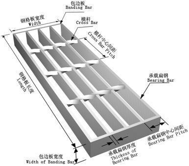 钢结构楼梯踏步板