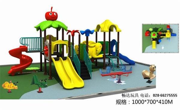 幼儿园玩具厂家_四川成都幼儿园大型玩具价格_儿童户外组合滑梯_室内