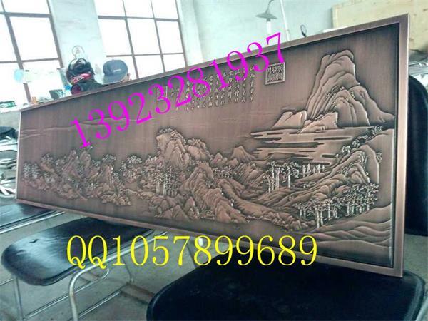 定做精品铝板数控雕刻艺术花纹铝板背景幕墙装饰屏风