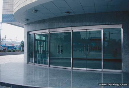 玻璃门不锈钢边框横截面