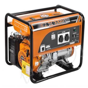发电机   一般的柴油发电机组的工作原理是在柴油机汽缸内,经高清图片