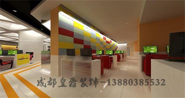 网吧设计_成都网吧装修设计五大区域