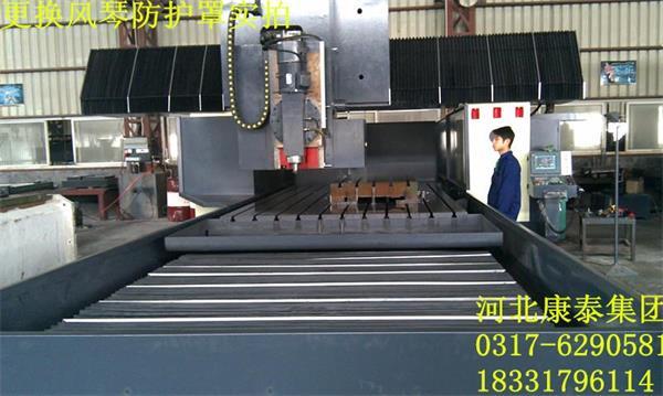 齐二CK52防护罩数控双柱立式车床导轨护板