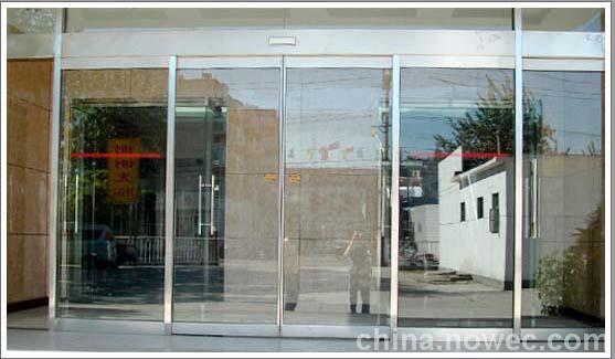 北京电动门玻璃门感应门上门安装
