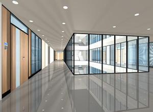 安装单层玻璃隔断 打隔断 固定隔断 办公室隔断定做
