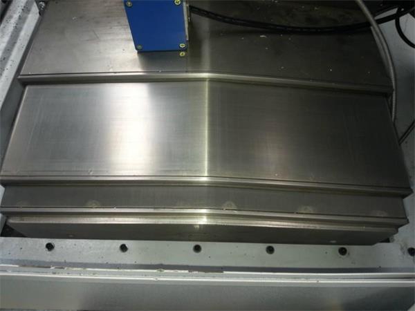 不锈钢防护罩_厂家加工定做钢板式机床导轨防护罩不锈钢防护罩