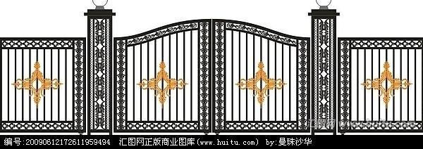 供应东大桥学校安装铁艺大门自动伸缩门13699170714