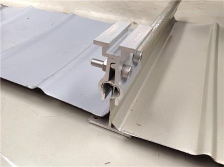 轻钢结构屋面系统附件 钢结构屋面板支架系列:角驰屋面,暗扣屋面,直立