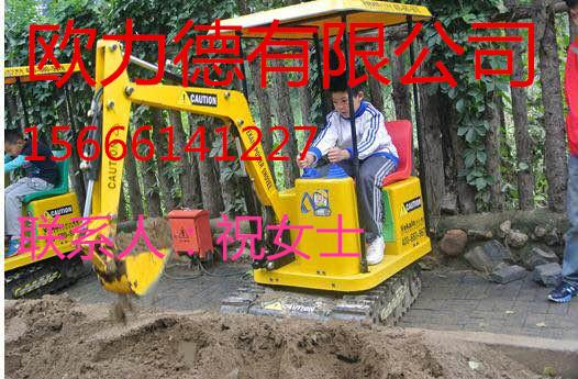陕西儿童游乐挖土机成新宠