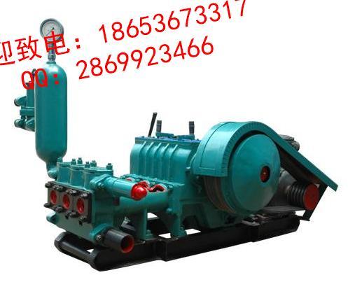 22 泥浆泵为曲柄连杆结构,三缸 该泵采用了汽车变速箱,可变五种高清图片