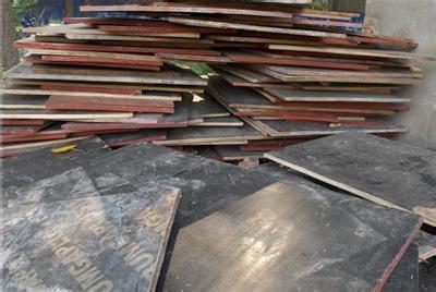 北京回收工地木模板