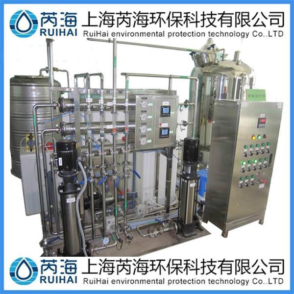 集成电路板生产超纯水设备的工艺流程