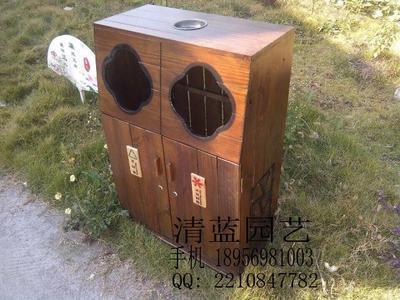 事木质垃圾桶的生产