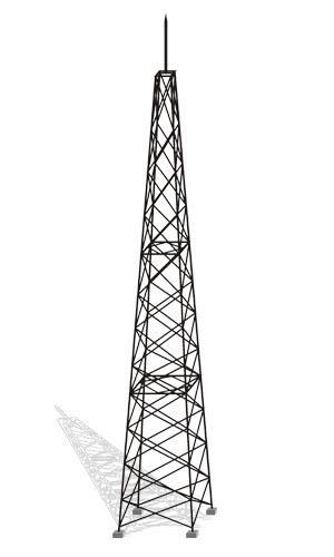 本公司承接各种避雷铁塔