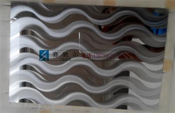 彩色不锈钢板的表面花纹立体而丰富