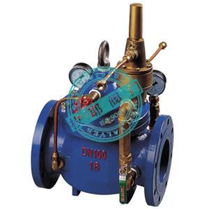 800x自力式压差旁通阀由主阀,压差控制导阀,针阀,球阀,微形过滤器和图片