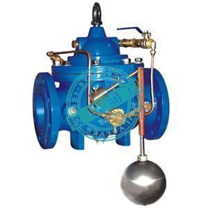 水力控制阀是以管道介质压力为动力,进行启闭,调节的阀门.图片
