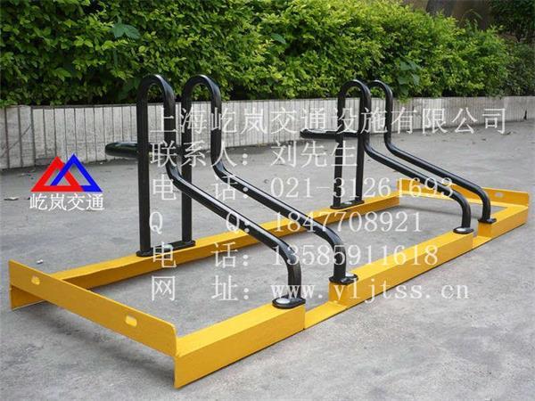 自行车停靠架 螺旋式自行车停车架 广场自行车停车架