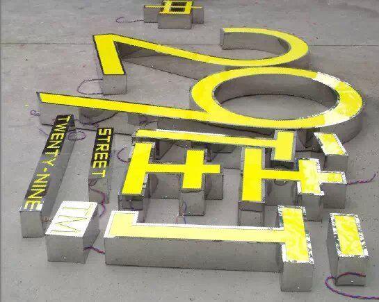 洛阳市不锈钢发光字工厂 沁阳外露发光字低价格 济源发光字