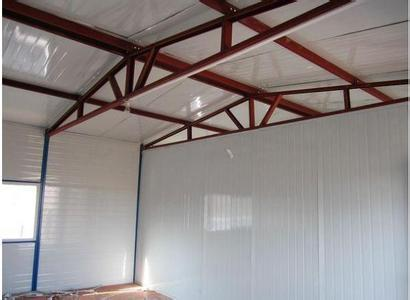 朝阳区钢结构车棚制作 彩钢房搭建 彩钢棚制作