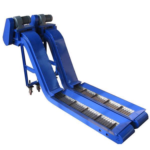 自动链板除屑输送机宁波常州链板式排屑机数控加工中心排屑器