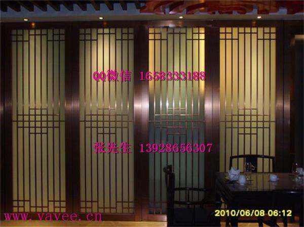 艺术花格不锈钢隔断拉丝玫瑰金屏风造型玄关