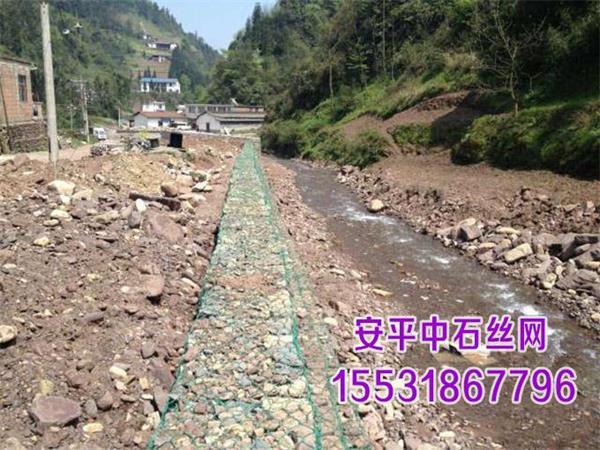 铅丝石笼护岸防洪 10公分格宾网箱厂家