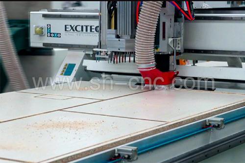 定制板式家具生产线-橱柜衣柜专用设备-山东星辉图片