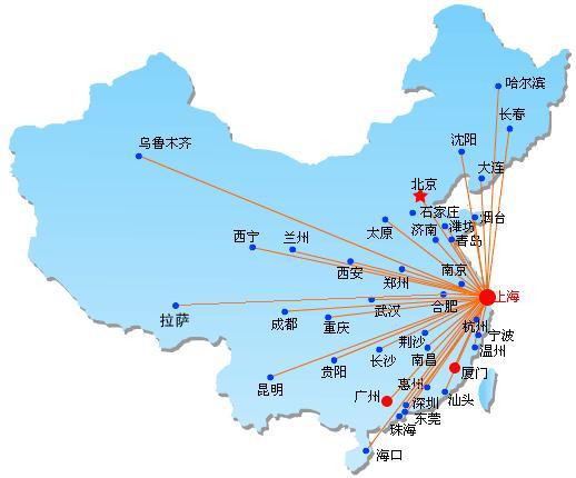 上海整车运输到威海货运专线