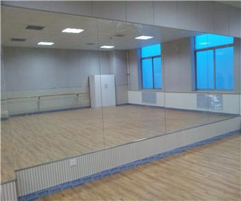 西城区安装玻璃镜子 定做舞蹈镜子