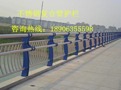 不锈钢复合管护栏 不锈钢复合管栏杆 桥梁护栏