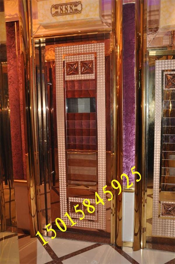 高品质 欧式红古铜不锈钢门花,欧式门头花定做价格
