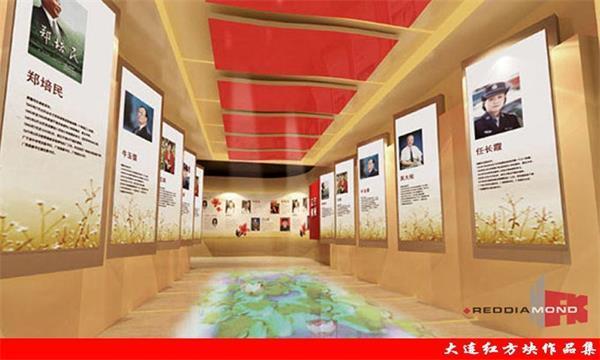 展厅走廊设计美术展厅走廊墙面图片7