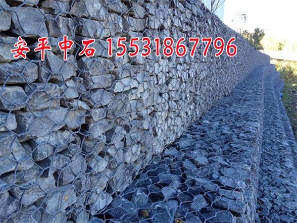 格宾石笼价格@河道护坡格宾网规格@0.3m格宾网垫防洪