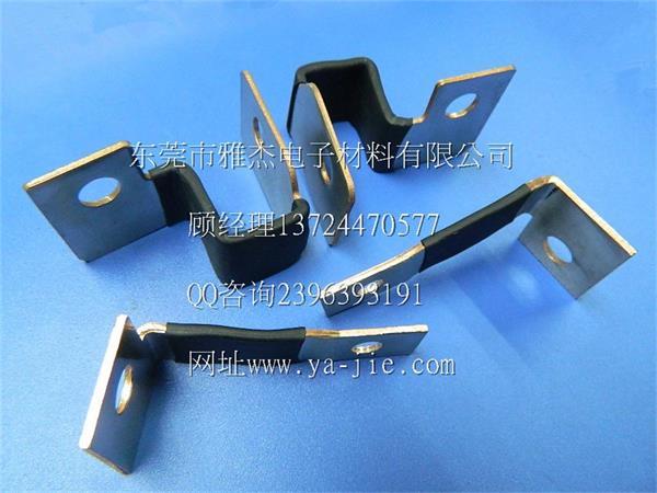 新能源汽车电池连接片 镀镍铜软连接 铜软连接片 云同盟高清图片