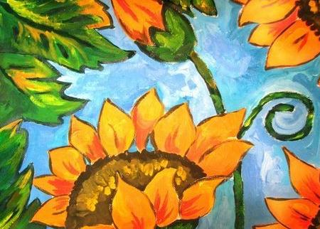 嘉定儿童创意水粉培训 嘉定美术培训 幼小衔接学画画
