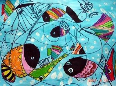 幼儿中班学画画 嘉定少儿美术培训