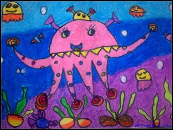 嘉定儿童4-6岁创意画培训 嘉定幼儿美术培训班图片