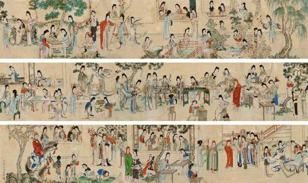 明代画家杨寿平百美图价值市场价值