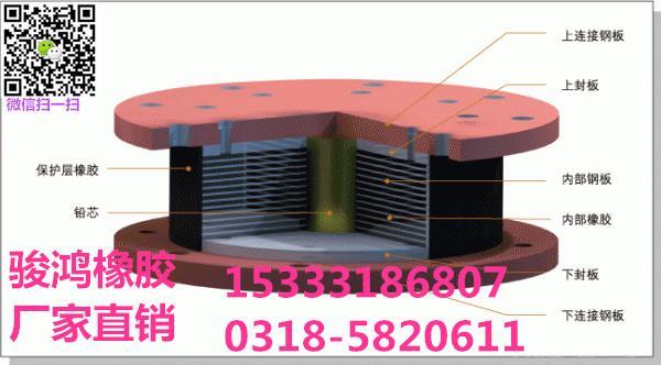 盆式橡胶支座的板式橡胶支座,桥梁上部结构(梁)的连接,横梁运动;板式