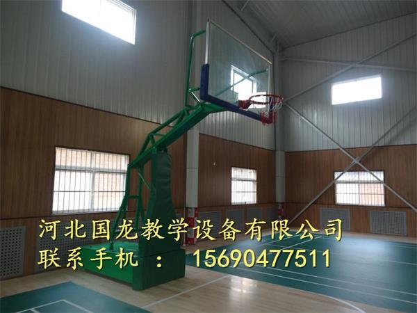 仿液压篮球架广泛销售万源市图片