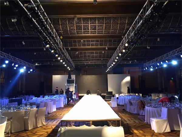 上海会议会展 开业庆典晚会舞台搭建及酒店会场地布置图片
