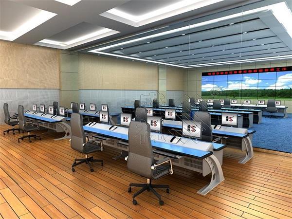 东莞交通部门控制中心指挥调度台,监控调度台的实用性
