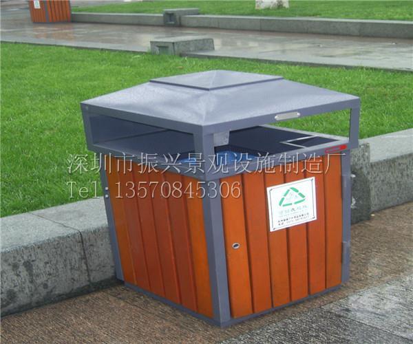 东莞公园景观垃圾桶,小区专用垃圾桶