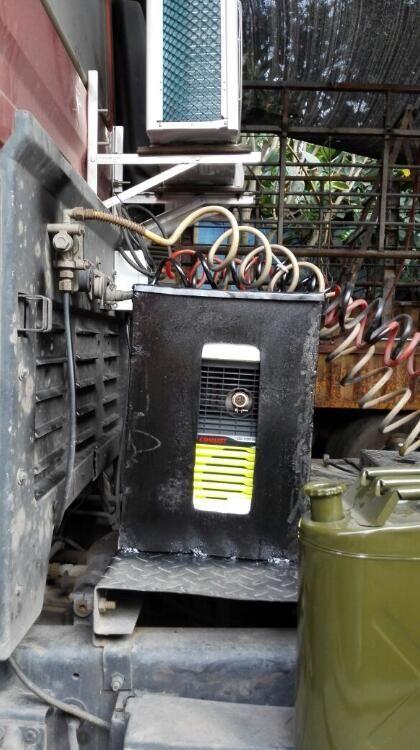 萨登卡车货车带空调的发电机