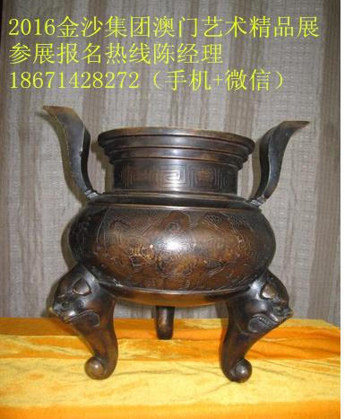 康熙年制铜香炉市场价值怎么样