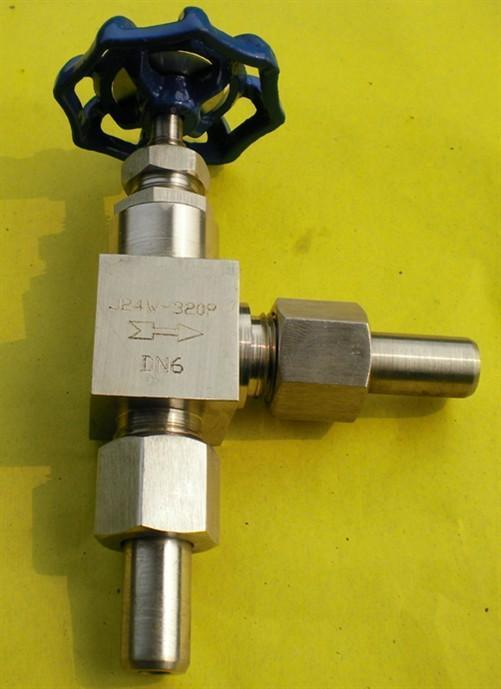 j24w-160p,j24w-320p不锈钢角式截止阀图片