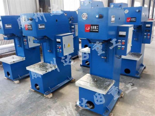 安新县10t单柱液压机如何维修液压泵图片